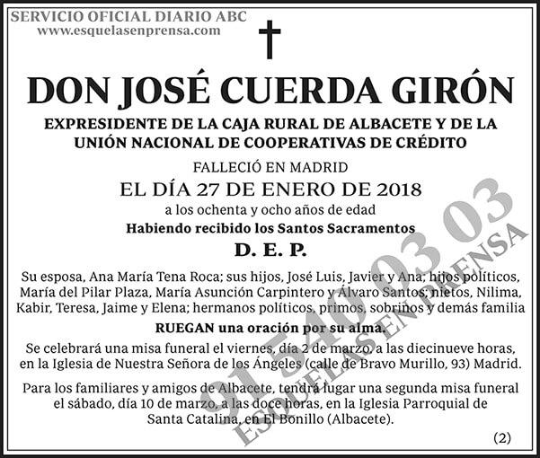 José Cuerda Girón